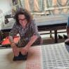 Jonc Bouddhiste Mantra gold large amulette by Asiantoutim Qualité premium
