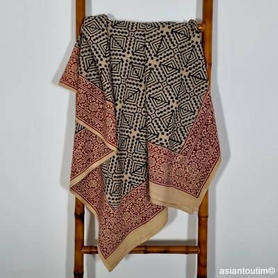 Boucles d'oreilles pendantes en laiton, Boucles d'oreilles tribales en laiton, Boucles d'oreilles ethniques
