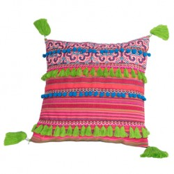 Housse coussin Hmong Candy