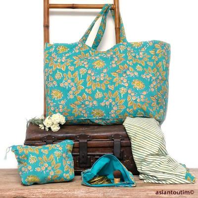 Mini sac Banjara bohème indien