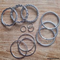 Sac fleurs ethnic Hmong mini bleu vert